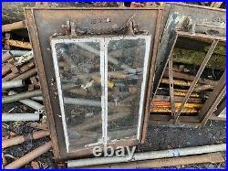 2 Reclaimed Cast Iron Skylight Windows Roof Light Victorian