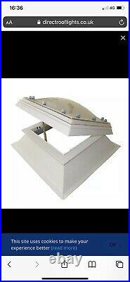 A Pair Of Polycarbonate Domes Skylight Roof Window