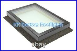 Aluminium Roof Lantern Rooflight Skylight Window LAMINATED Glass 1500 x 1500mm