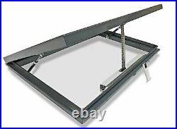 Aluminium Rooflight Skylight Window Remote Electric LAMINATED Glass 1000x 1500mm