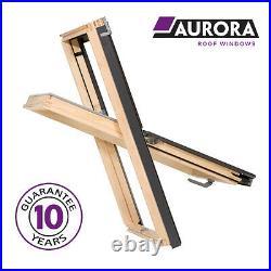 Aurora Roof Window 78 x 92 cm (Fakro style) Loft Rooflight Skylight Inc. Flashing