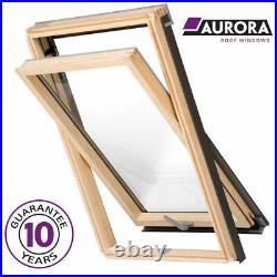Aurora Roof Window (Fakro, Keylite) Loft Rooflight Skylight + Universal Flashing