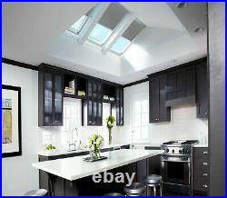 Black Blackout Fabric Blinds For Roof Skylight. For All Dakstra Roof Windows