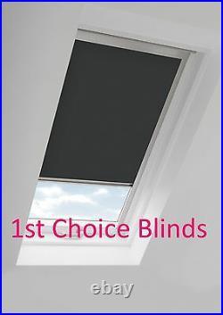 Blackout Thermal Skylight Beige Roller Blind For Velux Roof Windows All Sizes