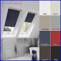 Blackout Thermal Skylight Blinds Compatible With Velux Roof Windows All Sizes