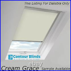 Blackout Thermal Skylight Roller Blinds For All Dakstra Roof Windows Easy Fit