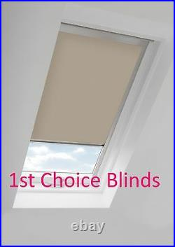 Blackout Thermal Skylight Roller Blinds For Velux Roof Windows All Sizes