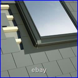 Centre Pivot PVC Roof Windows 78cm x 98cm + Flashing. Rooflight skylight Sunlux