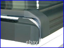 Centre Pivot White Roof Windows 55cm x 98cm + Flashing. Roof light Skylight