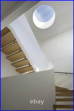 Circular window round window skylight Rooflight flat glass roof window ebay No1