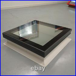 Coxdome Glazed Skylight with kerb for Flat Roof extension Glass Rooflight window