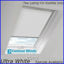 Cream Blackout Blinds For Roof Skylights For All Rooflite Roof Windows