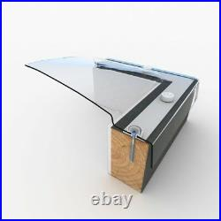 Dome Roof Light, Polycarbonate Flat Roof Skylight Window, Fixed, Single Skin