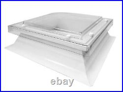 Dome Roof Light With Kerb Upstand, Skylight Window for Flat Roofs, Mardome trade