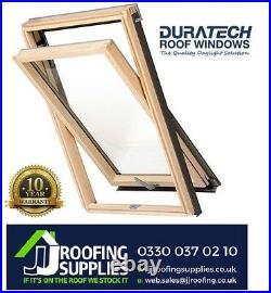 Duratech (Rooflite) Roof Window Skylight 1140 x 1180mm Inc. Flashing