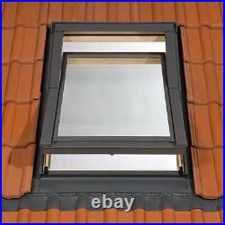 Duratech (Rooflite) Roof Window Skylight 550 x 780mm White Wood Inc. Flashing