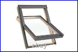 Duratech (Rooflite) Roof Window Skylight 550 x 980mm Inc. Flashing