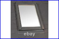 Duratech (Rooflite) Roof Window Skylight 550 x 980mm White uPVC Inc. Flashing