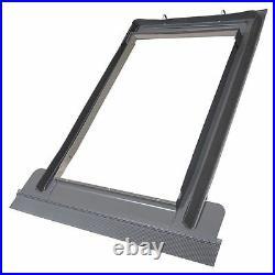Duratech (Rooflite) Roof Window Skylight 780 x 980mm White uPVC Inc. Flashing