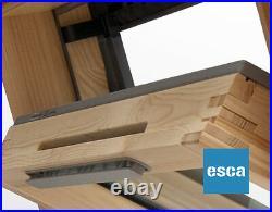 Duratech (Rooflite) Top Hung Roof Window Skylight 780 x 1400mm Inc. Flashing