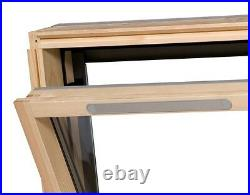 Duratech (Rooflite) Vented Roof Window Skylight 550 x 980mm Inc. Flashing