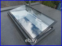 Electronic Opening Skylight for Flat Roof 1200mm x 1200mm Laminated Glass