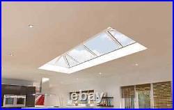 Eurocell Skypod Flat Roof Lantern Sky Light Gazer Glass Ceiling Window Extension