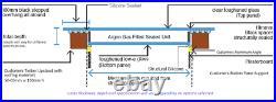 FLAT ROOF SKY LIGHT, ROOF DOME, ROOF WINDOW 800x800mm Huge SALE