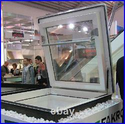 Fakro DRF Flat Roof Access Exit Window Escape Skylight Flat glass Triple Glazed