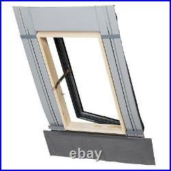 Fenstro Rooflite Double Glazed Skylight Access Roof Window 45x55cm Flashing inc