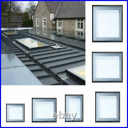 Fixed Roof skylight Home Office Access Roof Window Flashing Loft Skylight