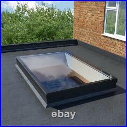 Fixed Rooflight Flat Roof Skylight Sky Light Triple Glazed Glass Lantern Windows