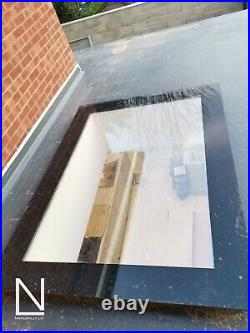 Fixed flat roof skylight-rooflight-roofwindow-selfcleaning 1000x3000mm SALE ON