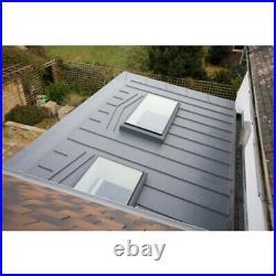 Flat Roof Fixed Window Skylight Glass Triple Glazed Lantern Rooflight Sky Light