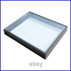 Flat Roof Lantern Skylight Glass Triple Glazed Roof Window Sky Light Rooflight