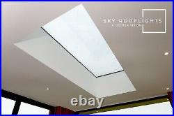 Flat Roof Skylight Glass Double Glazed Lantern Rooflights Free Delivery