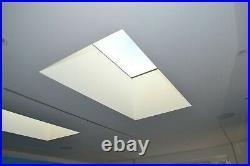 Flat Roof Skylight Glass Double Glazed Lantern Rooflights Various Sizes