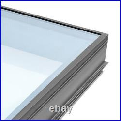 Flat Roof Skylight Triple Glazed Sky Light Lantern Windows 600mm 800mm 1000mm