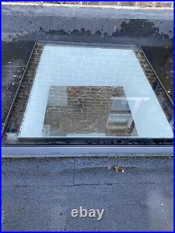 Flat Roof Skylight Window by Glazing Vision