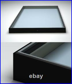 Flat Roof Window 1x2m Skylight. Aluminum powder coated frame! Made to measure