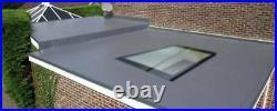 Flat Roof Window Glass / Roof Lantern Skylight Flat Rooflight 1500mm x 1500mm