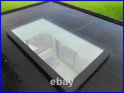 Flat Roof Window Glass / Skylight Flat Rooflight Lantern 1700mm x 1200mm
