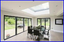 Flat Roof Window Glass / Skylight Flat Rooflight Lantern 2200mm x 1200mm