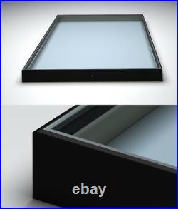 Flat Roof Window Skylight. Aluminum powder coated frame! Made to measure