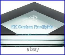 Flat Roof Window Skylight Rooflight Triple Glazed Laminated Glass Self Cleaning