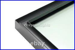 Flat Roof light Skylight Lantern Window Aluminium Laminated Glass 1000 x 2000mm