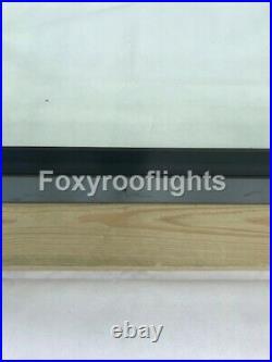 Flat Roof light Skylight Lantern Window Aluminium Laminated Glass 600 x 1200mm