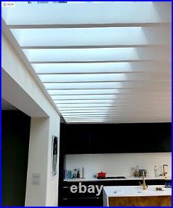 Flat Root Skylight Window Units High Performance