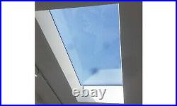 Flat roof lantern skylight rooflight roof window for 1m x 1.5m upstand