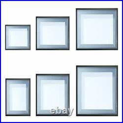 Glass Roof Flat Type Skylight Fixed Triple Glazed Glass Lantern Window Rooflight